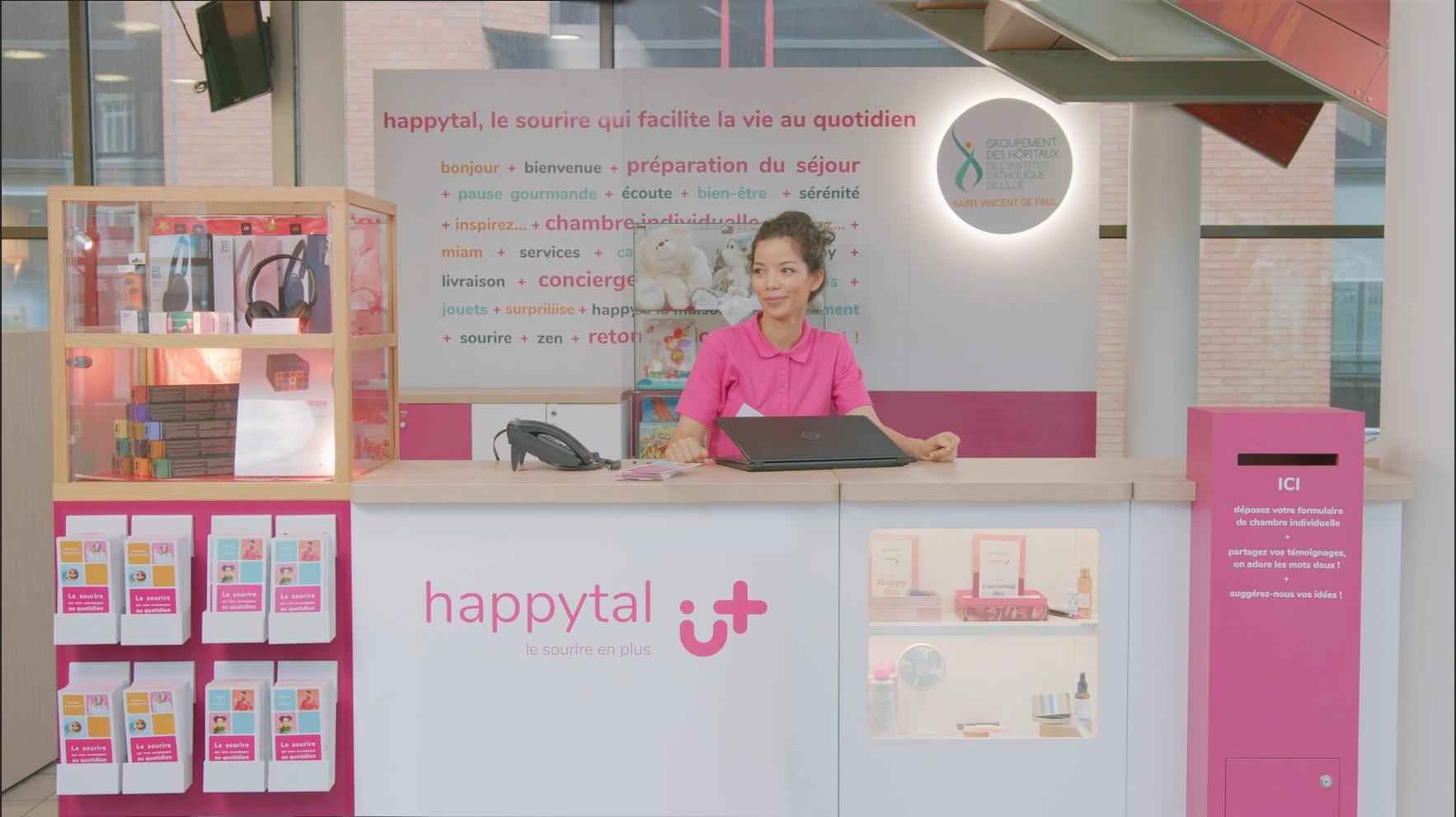 Happytal : améliorer la qualité de vie à l'hôpital