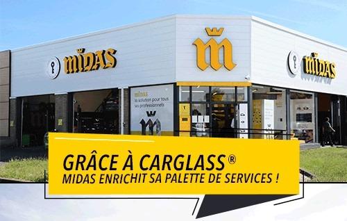 MIDAS et CARGLASS® : toujours plus de services automobiles
